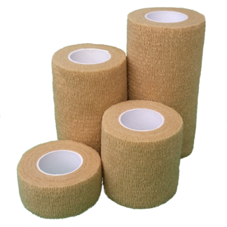 Beige Cohesive Bandage