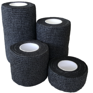 Black Cohesive Bandage