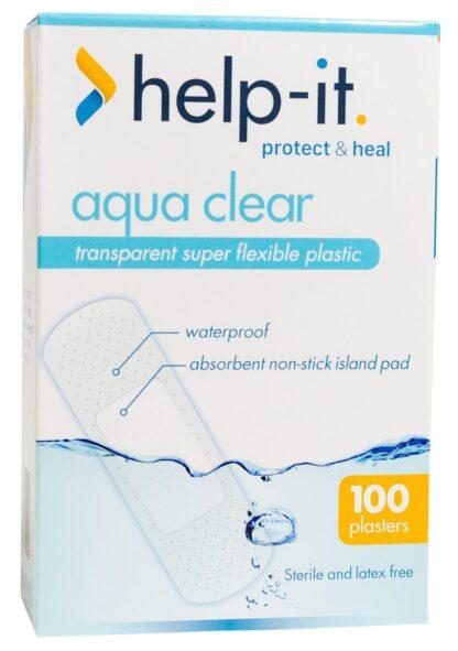 Help-It Clear Plastic Plaster