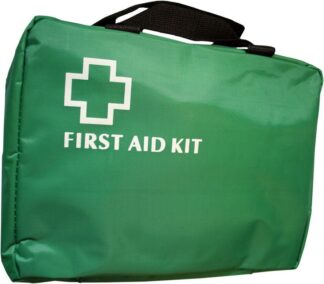 Green First Aid Bag With Handles