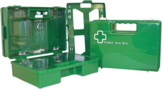 Green First Aid Box