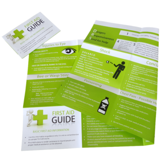 first aid tips booklet