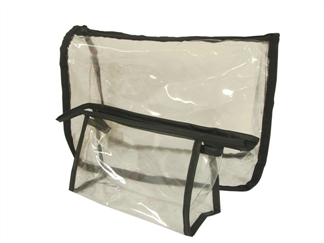Clear Plastic First Aid Bag