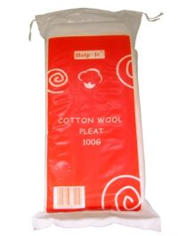 Cotton Wool Pleats 100s