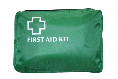 Green First Aid Bag No Handles