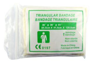 Reusable Calico Bandage Triangular