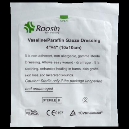 Dressings Paraffin Gauze